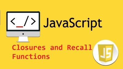 javascript closures and recal function
