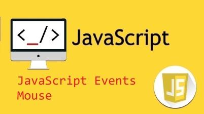 JavaScript Events - Mouse