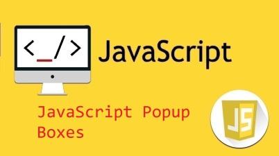 JavaScript Popup Boxes