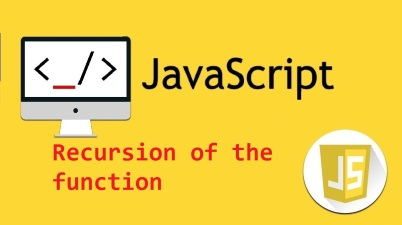 javascript -recursion of the function
