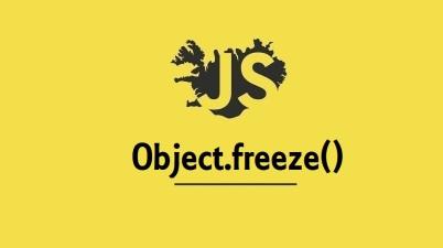 Object.freeze