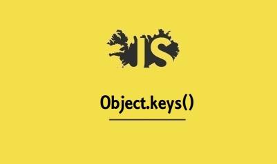 Object.keys()