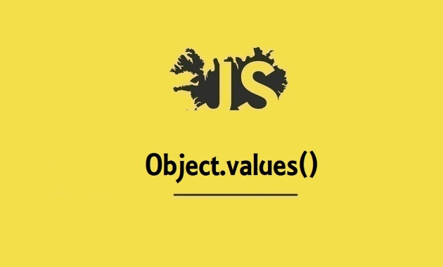Object.values()