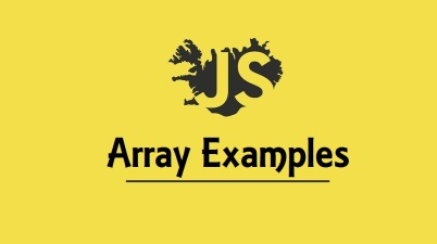 JavaScript Array Examples