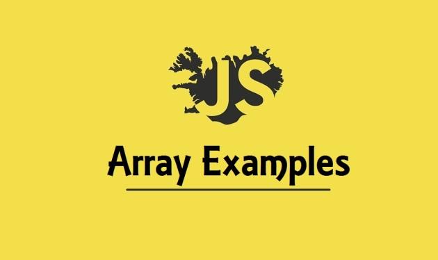 JavaScript Array Examples