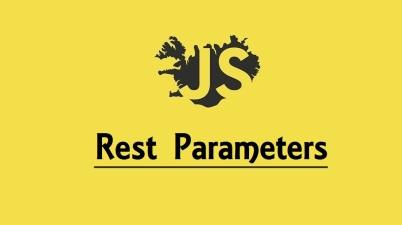 Rest Parameters