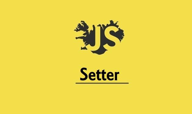 JavaScript setter