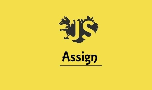 JavaScript Assign
