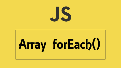 javascript Array forEach