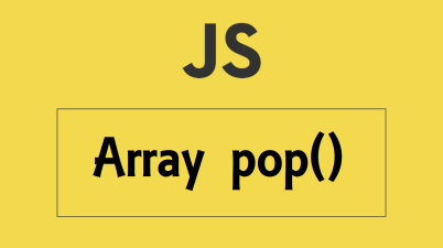 javascript Array pop