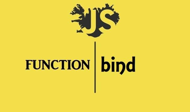 javascript function bind