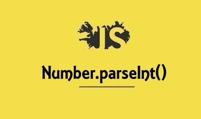 Number.parseInt()