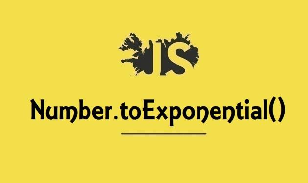 JavaScript toExponential()