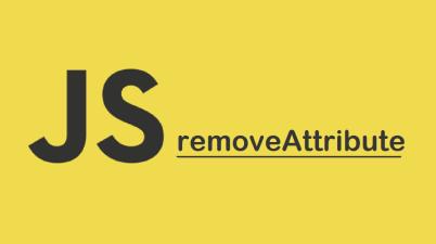 DOM removeAttribute()