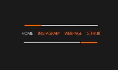 javascript menu animation