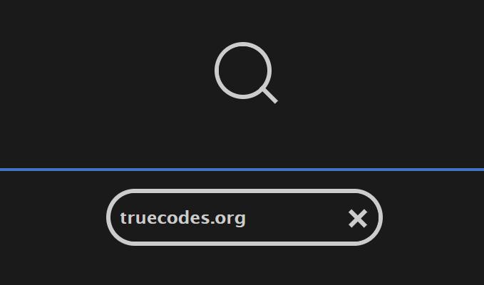 JavaScript Search Box – TrueCodes