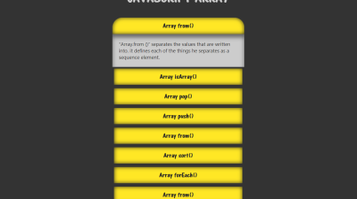 JavaScript Array Accordion