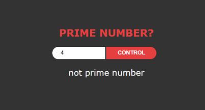 javascript prime number