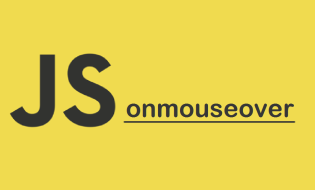 js onmouseover