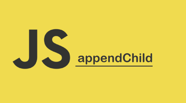 DOM appendChild()