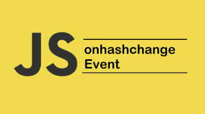 JavaScript onhashchange Event