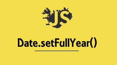 Date.setFullYear()