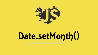 Date.setMonth()