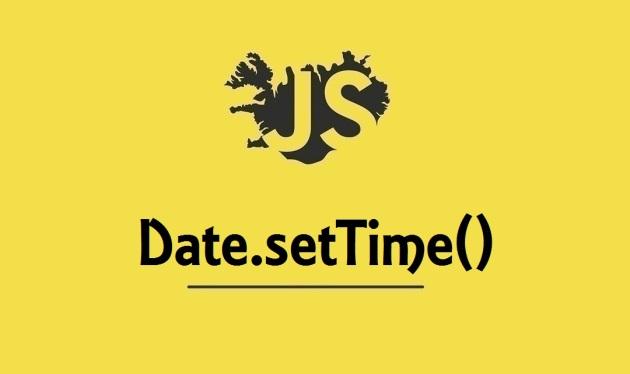 Date.setTime()