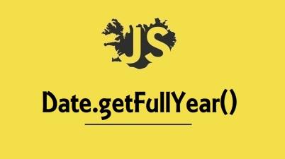 Date.getFullYear()