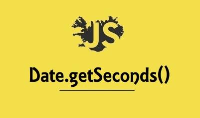 Date.getSeconds()