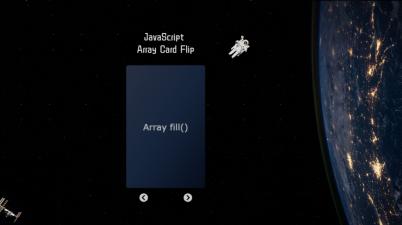 JS Array Card Flip