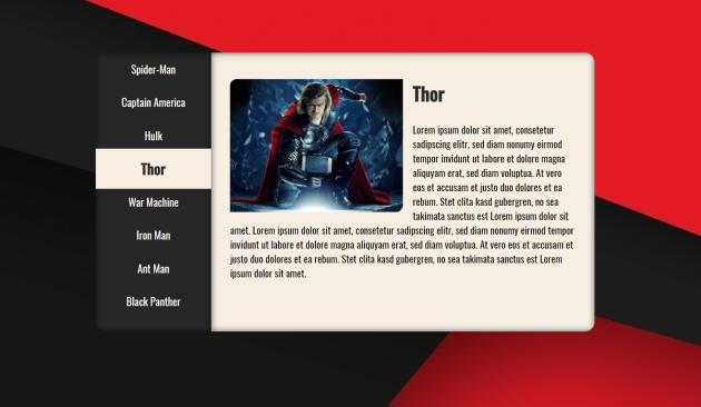 Marvel Tabs