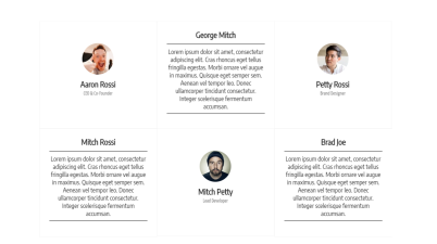 JavaScript TEAM CARDS