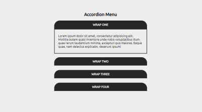 Accordion Menu