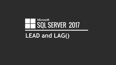 SQL LEAD and LAG()
