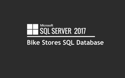 Bike Stores SQL Database