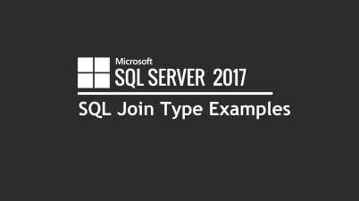 SQL Join Type Examples