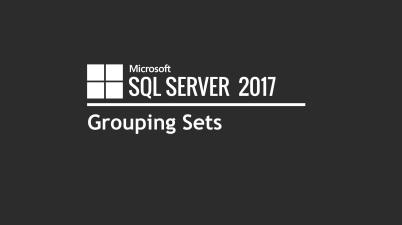 sql Grouping Sets