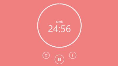JavaScript Pomodoro Timer